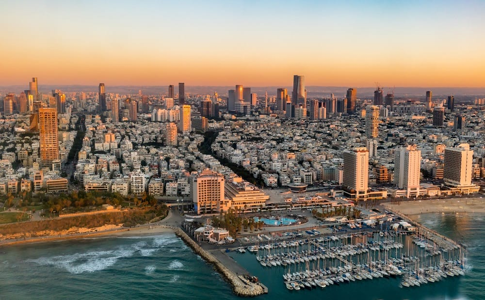 Coastal Picture of Tel Aviv